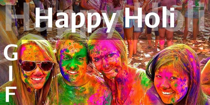 Happy Holi GIF Collection poster