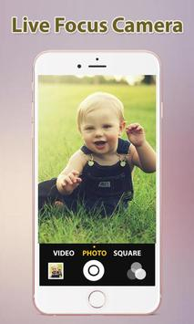 Live Focus Camera : Blur Photo apk screenshot