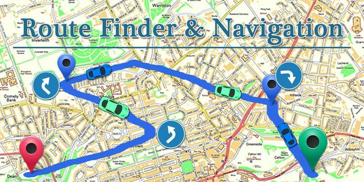 Route Finder & Navigation poster