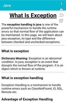 Core Java (ad Free application) java 8 also screenshot 3