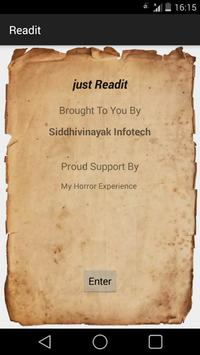 Readit - eBook Library poster