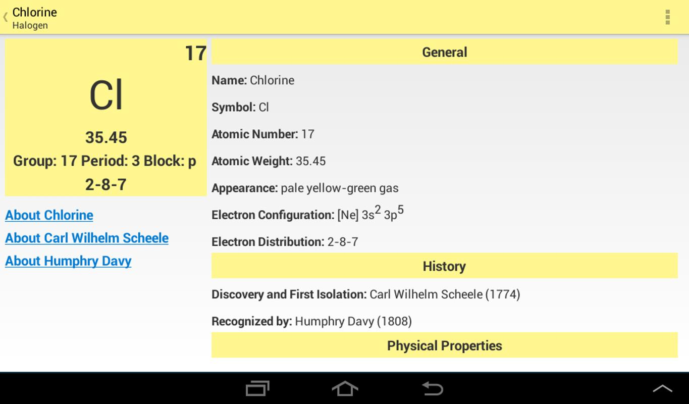 Pocket periodic table apk download free education app for android pocket periodic table apk screenshot urtaz Image collections