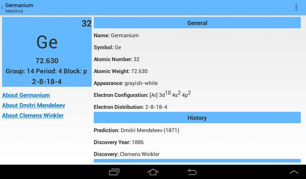 Pocket periodic table apk download free education app for pocket periodic table apk screenshot urtaz Images