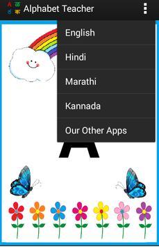 Alphabets Teacher for Kids - Multiple languages screenshot 8