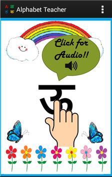 Alphabets Teacher for Kids - Multiple languages poster