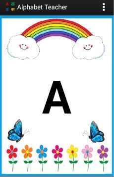 Alphabets Teacher for Kids - Multiple languages screenshot 1