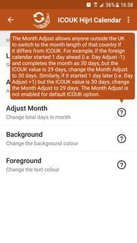 ICOUK Hijri Calendar screenshot 1