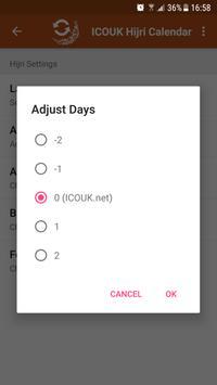 ICOUK Hijri Calendar screenshot 2