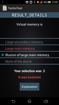 TechniTest apk screenshot