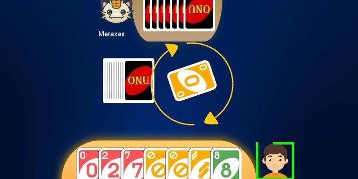 Classic UNOO   Crazy 8 Card game screenshot 1