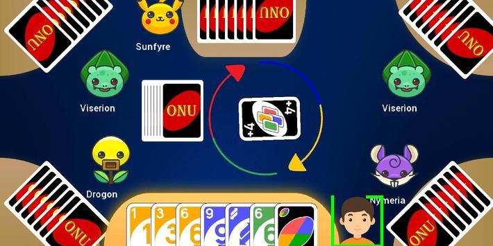 Classic UNOO   Crazy 8 Card game screenshot 2