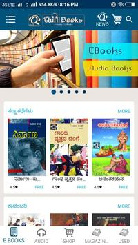 eBooks, Audio Books and Magazines - Quill Books poster
