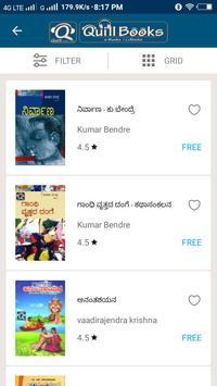 eBooks, Audio Books and Magazines - Quill Books apk screenshot