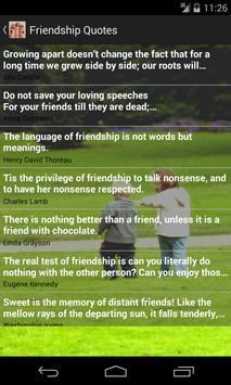 Friendship Quotes apk screenshot