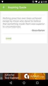 Inspiring Quotes - To Motivate screenshot 4