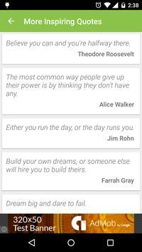Inspiring Quotes - To Motivate screenshot 1
