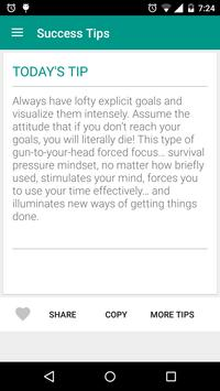 Success Tips : For Daily Success in Everything poster