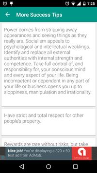 Success Tips : For Daily Success in Everything apk screenshot