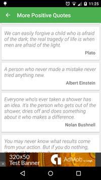 Positive Quotes - Inspiring & Motivational Reading apk screenshot