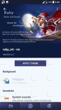 Ruby [ML] - theme Xperia™ screenshot 2
