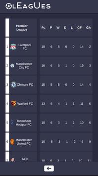 Leagues screenshot 1