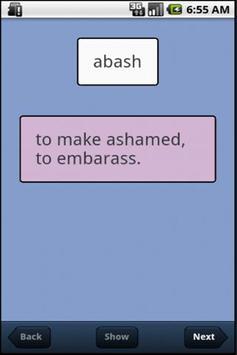 VocabularyBuilder apk screenshot
