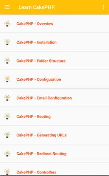 Learn CakePHP (Tutorial) poster