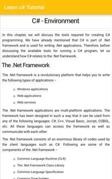 Learn C# (Tutorial) screenshot 2