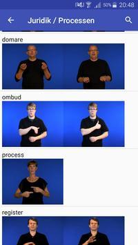 Teckenspråkslexikon screenshot 3