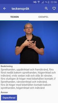 Teckenspråkslexikon poster