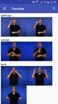 Teckenspråkslexikon screenshot 5
