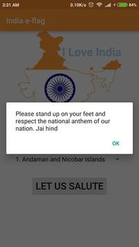 India E-flag screenshot 1