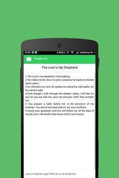 Psalm 23 - Psalm Bible App screenshot 1