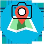 Snap My Location icon