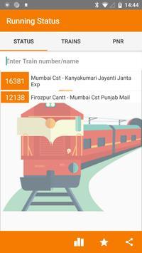 Running Train Status poster
