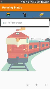 Running Train Status apk screenshot