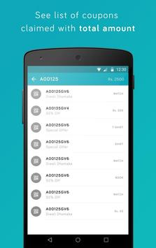 APAR Couponz apk screenshot