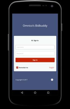 Omnico Bidbuddy screenshot 1