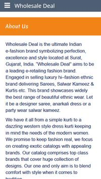 Wholesale Deal apk screenshot