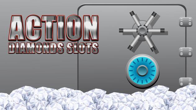Action Diamonds Slots poster