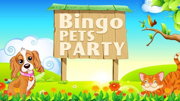 Bingo Pets Party poster