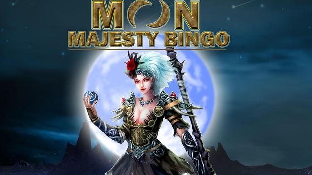 Moon Majesty Bingo poster