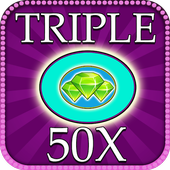 Triple 50x pay Bingo icon