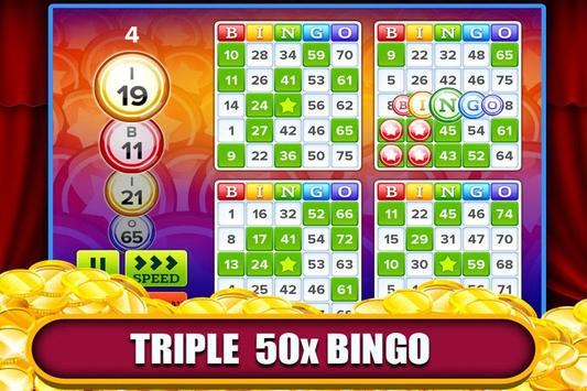 Triple 50x pay Bingo screenshot 1