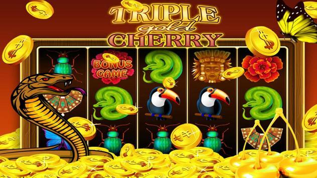 Triple Gold Cherry Slots screenshot 1