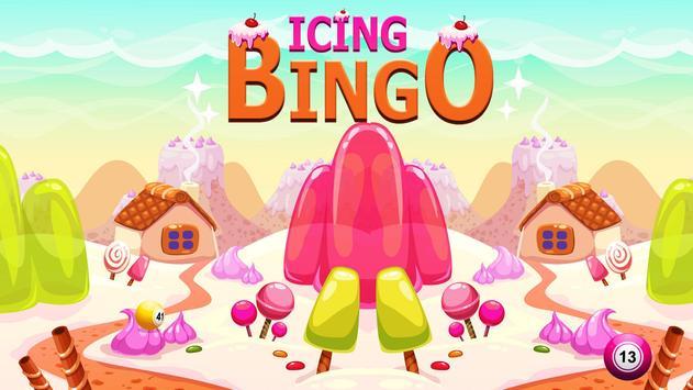 Icing Bingo - Cash & Prizes poster