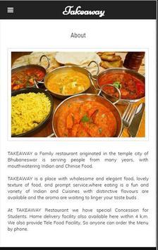 Takeaway Restaurant Bhubaneswar screenshot 1