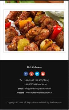 Takeaway Restaurant Bhubaneswar screenshot 2