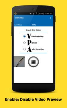 Smart Video Recorder - FREE apk screenshot