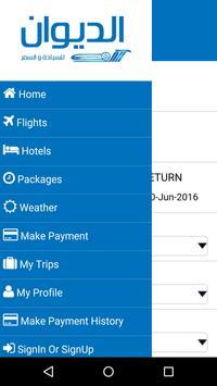 Al Deewan Travels apk screenshot